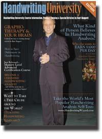 magazine articles on handwriting analysis