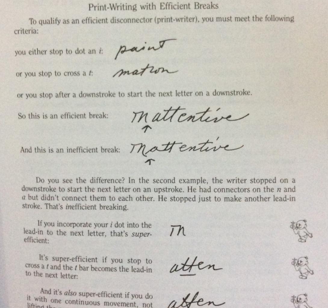 handwriting analysis letter k