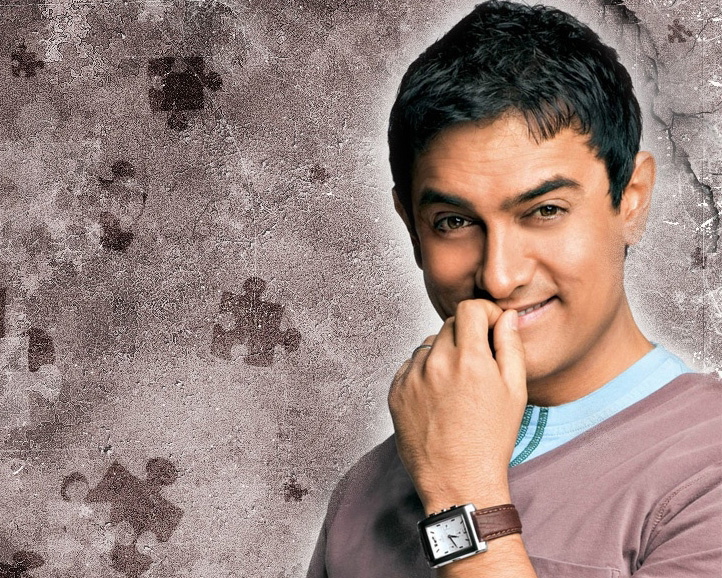Indian film star Aamir Khan