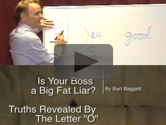 """Is Your Boss A Big Fat Liar? Truths Revealed By The Letter """"O"""""""