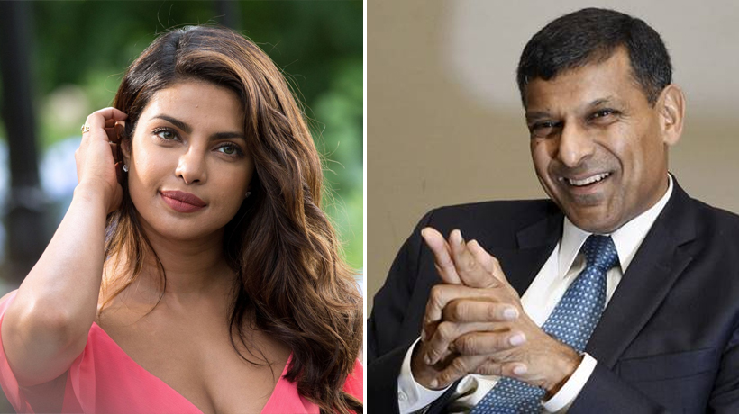 Priyanka Chopra's handwriting reveals determination and enthusiasm and Raghuram Rajan's shows fluidity in thought and action: Aditi Surana