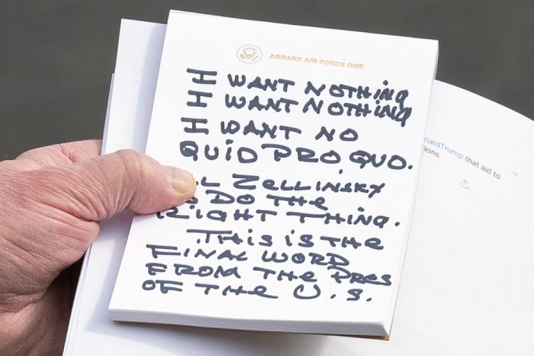 Why Does Donald Trump Use a Sharpie?  Donald Trump's handwriting reveals he's a lying, lazy, arrogant person, according to an expert.