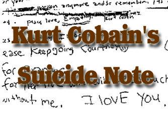 curt cobain banner